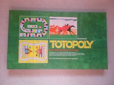 TOTOPOLY - Vintage board Game - Waddingtons 1972 - Complete