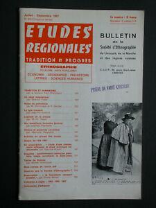Bulletin SELM 1967 - Pointe Levallois de Blond - Silex de St Sornin La marche