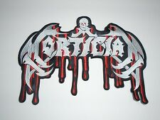 MORTICIAN DEATH METAL EMBROIDERED BACK PATCH