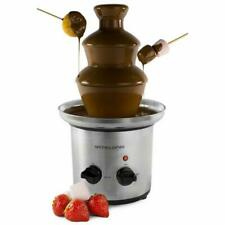 Andrew James 170W 0.9L 3 Tier Chocolate Fountain - Silver