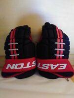 """EASTON Pro 7 Hockey Gloves jr 12""""-30cm L  (red, Black, White)"""