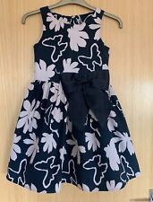 Next Girls Dress age 9 Summer Party Holiday Smart Bow Floral