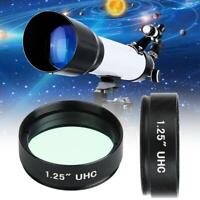 "1.25"" Filter UHC Light Pollution Inhibition Lens for Astronomical Telescope CO"