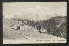 SWITZERLAND 391-ENGELBERG -Schwandalp mit dem Titlis (3239 m) (1905)