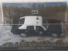 Collectable - James Bond 007 - Chevrolet Nova Police Car  - 1.43 scale