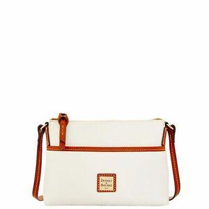 Dooney & Bourke Pebble Grain Ginger Pouchette Shoulder Bag
