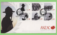New Zealand 2010 ANZAC set on First Day Cover