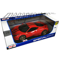 Maisto Ferrari 458 Speciale 1:18 Diecast Model Car Orange
