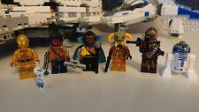 Lego Star Wars Complete Minifig Bundle from Millenium Falcon 75257 Boolio Lando
