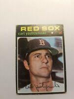 1971 Topps Carl Yastrzemski Boston Red Sox #530 Baseball Card