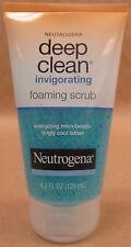 Neutrogena Deep Clean Invigorating Microbead Foaming Scrub 4.2 fl oz NEW