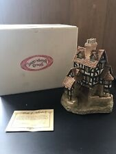 "David Winter Cottage ""Squires Hall� Pre Owned With Original Box And C O A"