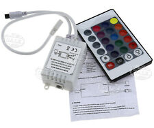 12V 24 Key IR Remote Controller Box For RGB LED 3528 5050 SMD Strip Lights