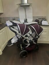 iCandy i Candy PEACH 5TH ED Damson TWIN Carrycot Seats IMMACULATE