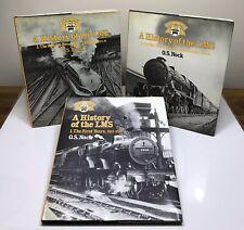 More details for history of lms books o s nock full set 3 volumes 1984 london midland scottish
