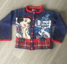 Disney Vintage Small Snow White and the Seven Dwarfs Kids Girls Sweater