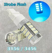 Strobe Reverse Backup Light T25 3156 3456 4156 92 LED Ice Blue Bulb Lamp W1 JA