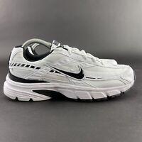 Nike Men's Initiator White Black Running Shoes 394055-100 Size 8