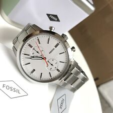 Fossil Watch * FS5346 Townsman Chronograph Silver Steel for Men COD PayPal