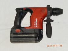 Hilti batería taladro martillo te6a, funcional, privado, buen estado, batería, defectuoso