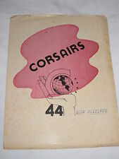 VINTAGE Alexander Hamilton Summer Class of 1944 CORSAIRS Yearbook W/ Autographs
