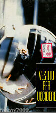 VHS=Vestito per uccidere (1980) VHS=COLLANA L'UNITA'/AMERICANA=Volume 25