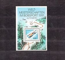 ALLEMAGNE Germany Bloc Feuillet Yvert N° 22 Neuf Luxe XX Bobsleigh altenberg 91