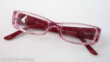 Dolce + Gabbana Glasses Designer Narrow Shape Width Frame Pink Size S
