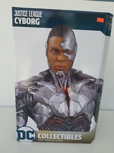 DC Comics Statues Justice League Cyborg Diamond Select 53 of 5000