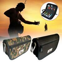 Lure Fishing Bags Pockets Storage Spoons Canvas Baits Fishing Tackle Bag Outdoor
