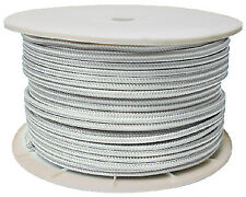 "White Double Braid Rope Spool 5/8"" X 600' Seachoice 47020"