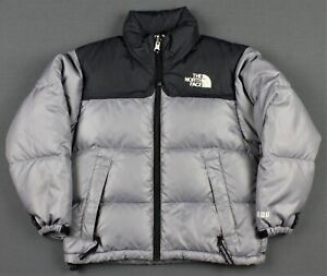 The North Face Vintage Nuptse 600 Down Insulated Puffer Jacket Kids Boys XS