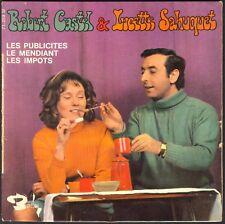 ROBERT CASTEL & LUCETTE SAHUQUET LES PUBLICITES LES IMPOTS 45T EP BARCLAY 71.259
