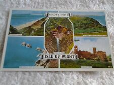 Vintage postcard  BEAUTY SPOTS OF  ISLE OF WIGHT  HAMPSHIRE