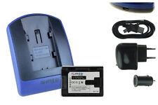 Baterìa+Cargador (USB) BN-VG107 para JVC GZ-HM310, HM320, HM330, HM334