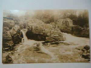 Eau Claire Dells,Between Wausau & Antigo,WI.RPPC Colby Wausau's photograph.1924