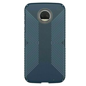 Speck Presidio Grip Case Motorola Moto Z2 Force Black / Blue / Gray