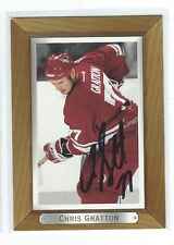 Chris Gratton Signed 2003/04 Bee Hive Card #149