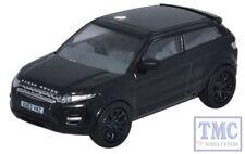 76RR004 Oxford Diecast 1:76 Scale OO Gauge Range Rover Evoque Santorini Black