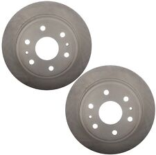 Pair Set of 2 Vented Rear Brake Disc Rotors 345mm ACDelco For Chevy Cadillac GMC