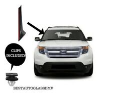 11-18 Ford Explorer Windshield-Outer Trim Molding Passenger Side With Clips