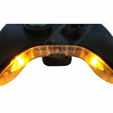 XBOX 360 Pre-Wired CONTROLLER comando modifica / MIC Pezzo LED MOD (giallo)