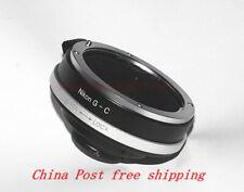 Nikon AI/F( G DX AF)lens to C-mount Movie Cameras and CCTV Cameras Mount Adapter