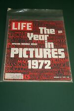 LIFE MAGAZINE, DECEMBER 29, 1972 - FINAL WEEKLY ISSUE - THE YEAR IN PICTURES