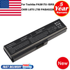 For Toshiba Satellite PA3817U-1BRS PABAS228 Laptop Li-ion Battery 6Cell Notebook