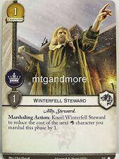 A Game of Thrones 2.0 LCG - 1x Winterfell Steward #152 - Base Set - Second Editi