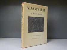 Adams Rib Robert Graves 1955 1st Edition ID877