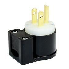 NEMA 5-15P 15A 125V 3W Heavy Duty Male Straight Blade Industrial Electrical Plug