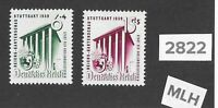 Very nice MLH stamp set Third Reich Stuttgart Germany 1939 Hitler's Culture fund