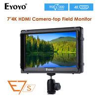 E7S 4K Field Monitor 1920x1200 For Camera Canon Mark 5D3 Sony FS7 FS5 A7S2 AU!